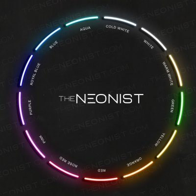 the neonist neon colors