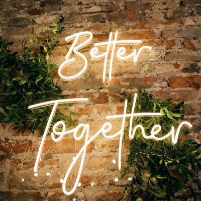 better together NEON WARM WHITE