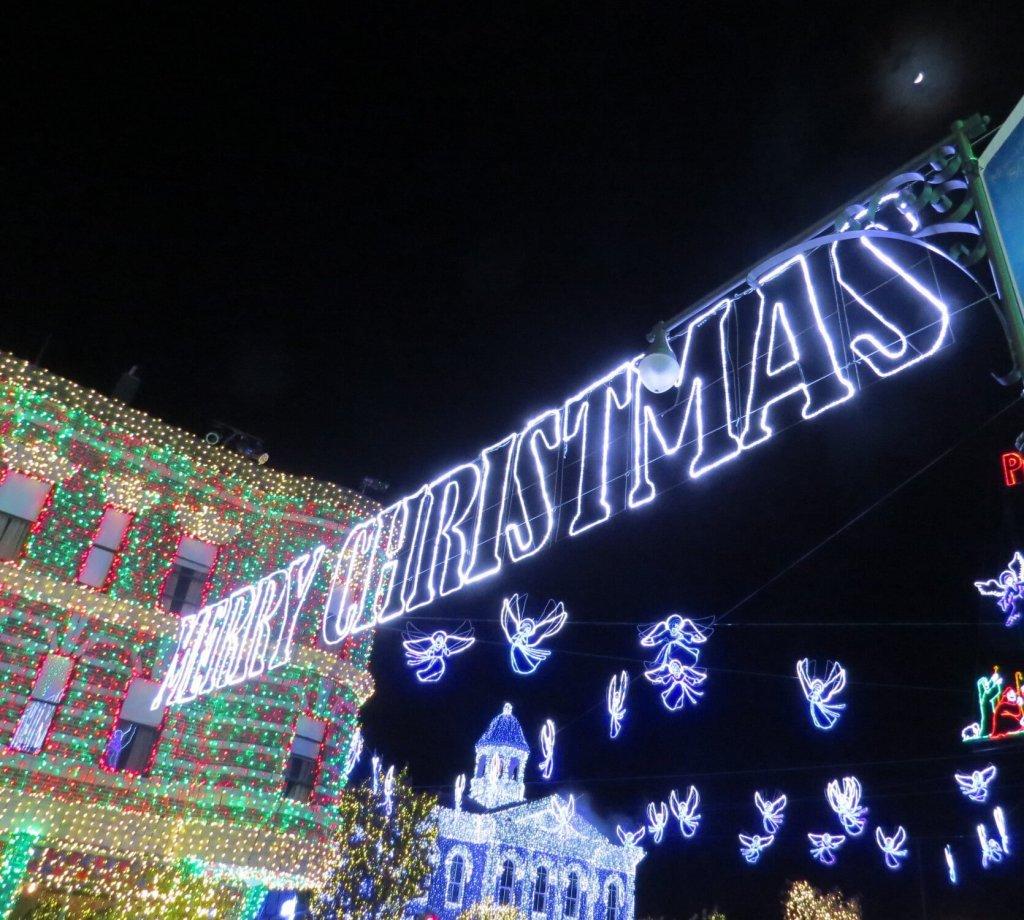 Christmas neon signs